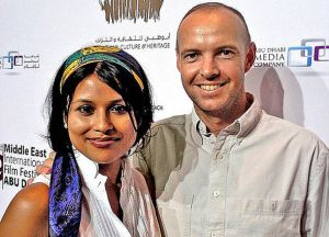 Afsana and Bruno Lachaux before their Sharia divorce